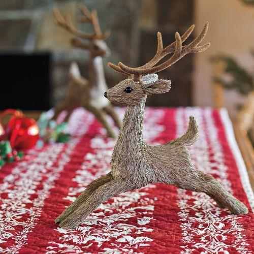 Straw Reindeer
