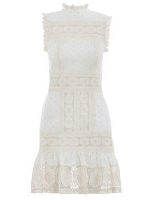 Zimmermann Prima Dot Broiderie Dress
