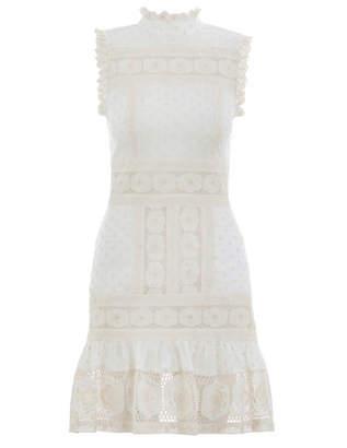 Zimmermann Prima Dot Broiderie Dress