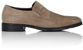 Bruno Magli MEN'S PRIMO SUEDE PENNY LOAFERS