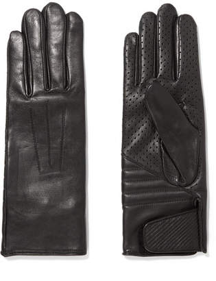 Isabel Marant Rocker Leather Gloves - Black