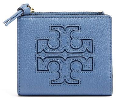 Tory BurchWomen's Tory Burch 'Mini Harper' Leather Wallet - Black