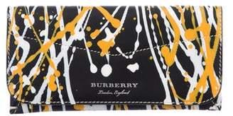 Burberry 2018 Hoxton Splatter Wallet