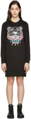Kenzo Black Tiger Pullover Dress $355 thestylecure.com