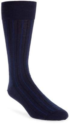 John W. Nordstrom R) Vertical Lines Socks
