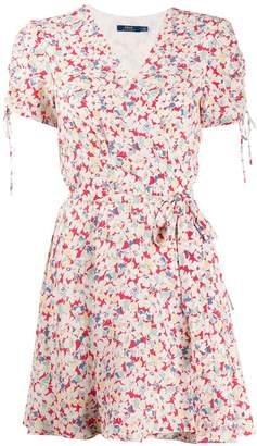 4e5fec77a93 Polo Ralph Lauren floral print wrap dress