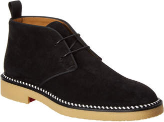 Christian Louboutin Bruno Crepe Suede Boot
