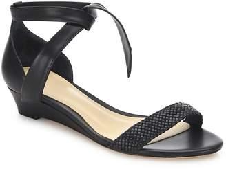 Alexandre Birman Women's Atenah Woven Leather Demi-Wedge Sandals