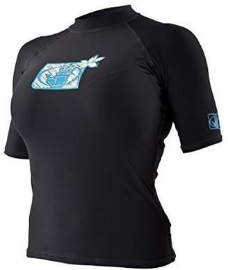 Body Glove Women's Short Sleeve Wetsuit Rash Vest