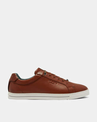 Ted Baker THAWNE Burnished leather trainers