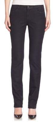 Lafayette 148 New York Italian Bi-Stretch Five-Pocket Denim Skinny Jeans
