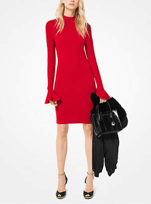 Michael Kors Bell-Sleeve Dress