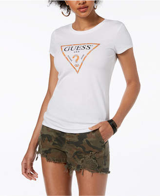 GUESS Crew-Neck Graphic T-Shirt