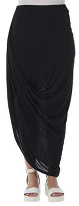Bench Women's Asymmetric Skirt - Black