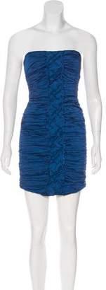 BCBGMAXAZRIA Mariko Matelassé Dress