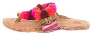 Figue Suede Slide Sandals