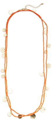 Kenneth Jay Lane Women's Resin & Coin Station Necklace