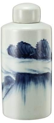 Ceramic Cumulus Lidded Ceramic Jar