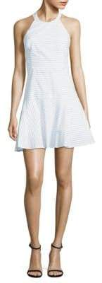 Parker Halter Cotton Fit-&-Flare Dress