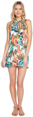 O'Neill - Emma Cover-Up Women's Jumpsuit & Rompers One Piece $49.50 thestylecure.com