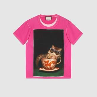 Gucci (グッチ) - イグナシ・モンレアル プリント オーバーサイズ Tシャツ
