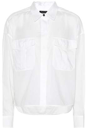 Rag & Bone Cropped Mason cotton shirt