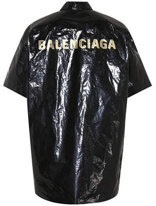Balenciaga Bin water-repellent shirt