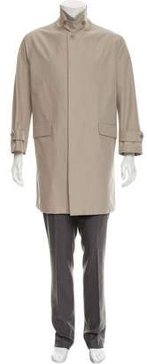 Loro Piana Tab Collar Trench Coat