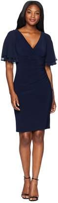 Lauren Ralph Lauren Mildia Elbow Sleeve Day Dress Women's Dress