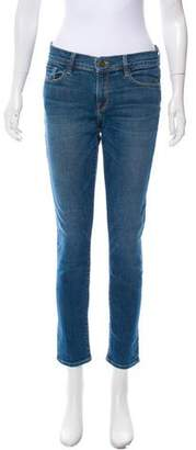 Frame Le Grand Garçon Mid-Rise Jeans