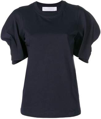 Victoria Beckham Victoria pleated sleeves blouse