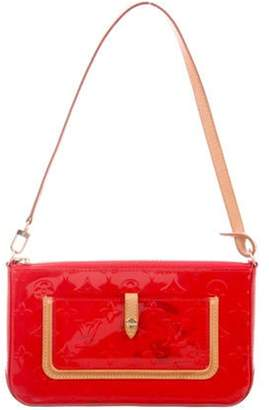Louis Vuitton Vernis Mallory Square Bag Red Vernis Mallory Square Bag
