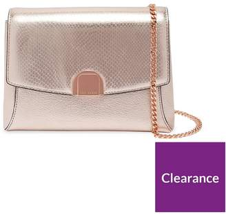 Ted Baker Exotic Circle Lock Crossbody