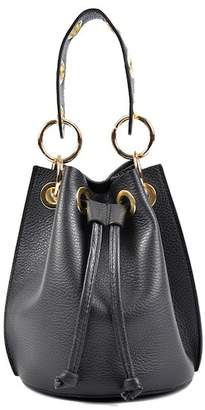 Roberta M Slouch Grommet Handbag