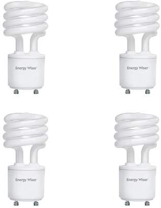 Bulbrite Industries 13W GU24 CFL Spiral Light Bulb Frosted