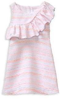 Janie and Jack Baby's, Toddler's, Little Girl's& Girl's Boucle Ruffle Dress