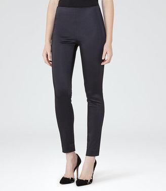 Satine Satin Skinny Trousers $195 thestylecure.com