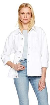 Hudson Women's Emmet Long Sleeve Boyfriend Jacket