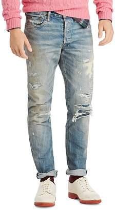 Polo Ralph Lauren Sullivan Slim-Fit Distressed Jeans in Lockwood