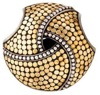 John Hardy Two-Tone Jaisalmer Dot Twirl Slide Pendant
