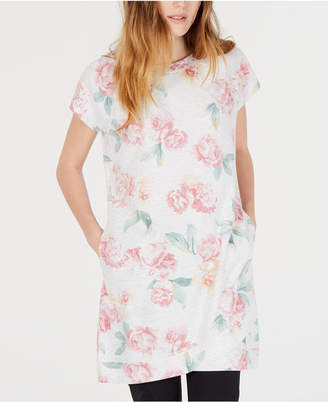 Ideology Floral-Print Tunic