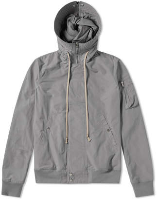Rick Owens Short Hooded Bomber Jacket