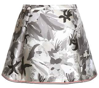 Thom Browne Jacquard miniskirt