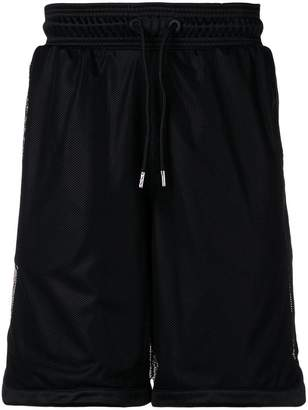 Marcelo Burlon County of Milan classic running shorts