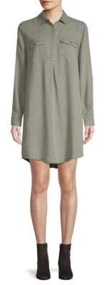 Saks Fifth Avenue Long-Sleeve Shirtdress