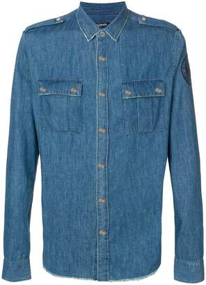 Balmain classic denim shirt