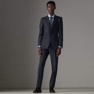 Burberry Slim Fit Wool Half-canvas Tuxedo