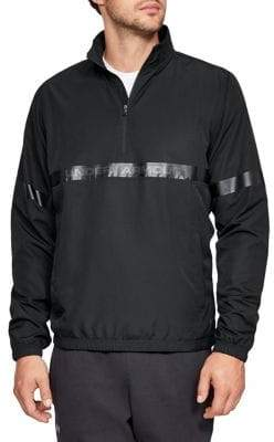 Under Armour Sportstyle Woven Half Zip Jacket