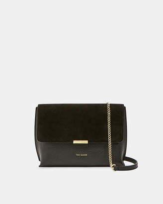 Ted Baker LISA Small suede detail cross body bag