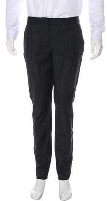 Dolce & Gabbana Pinstripe Wool-Blend Pants
